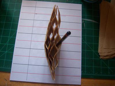 How to make honeycomb paper balls (15)