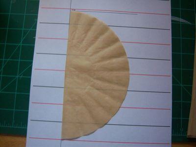 How to make honeycomb paper balls (8)