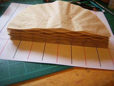How to make honeycomb paper balls (32)